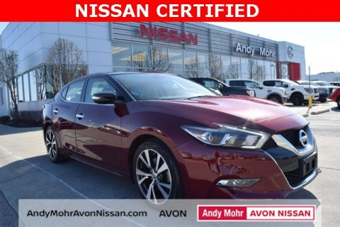 Certified Used Nissan Maxima Platinum